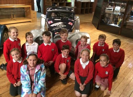 Class 4 Morgan Factory Trip