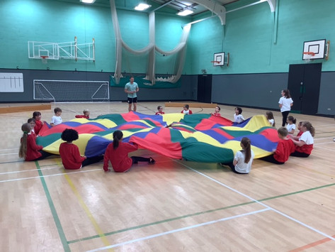 Class 5's PE Workshop at Dyson Perrins Academy