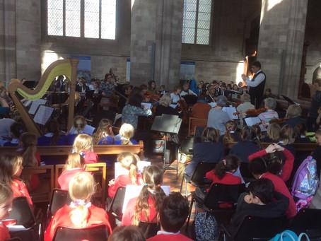 KS2 Choir at Hereford Cathedral