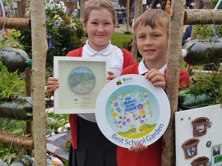 Winners of Best School Garden!