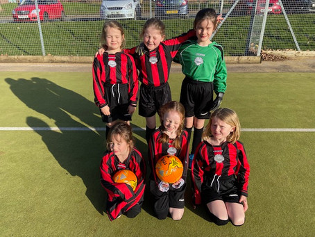 KS1 Girls Football