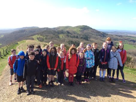 Class 4 trip to British Camp
