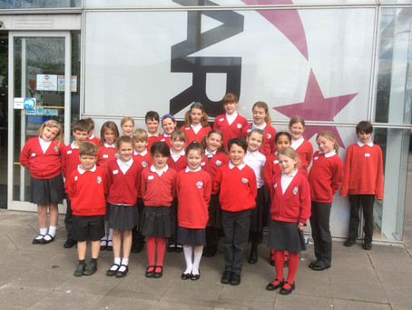 KS2 Choir at Herefordshire Performing Arts Festival