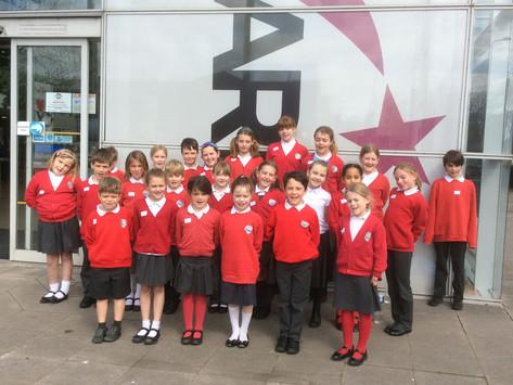 KS2 Choir at Herefordshire Performing Arts Festival