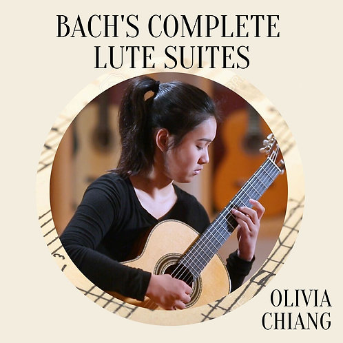 Bach's Complete Lute Suites by Olivia Chiang Physical CD