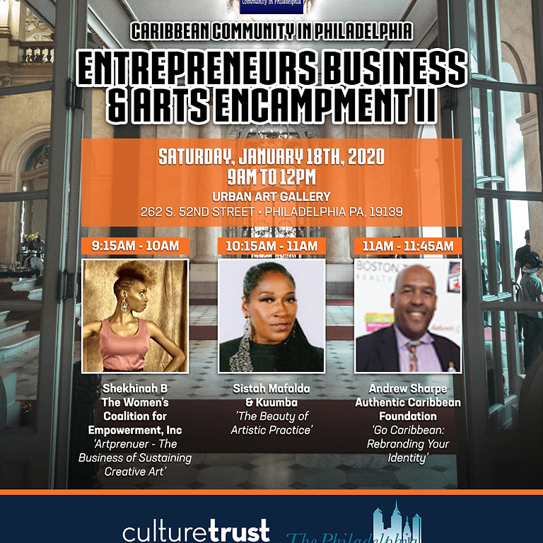 """Entreprenuer's Business & Arts encampment II"""