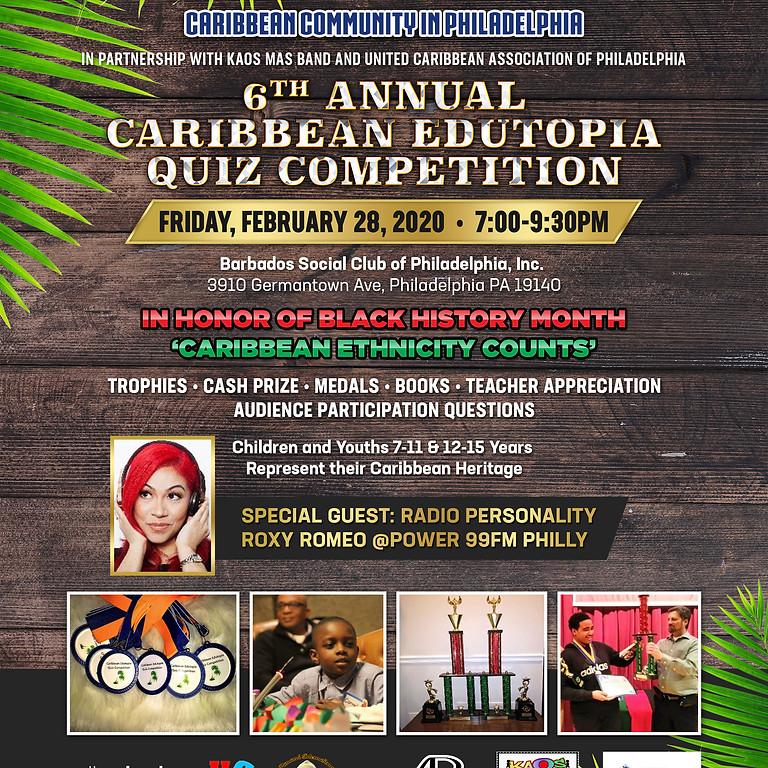 6th Annual Caribbean Edutopia Quiz Competition