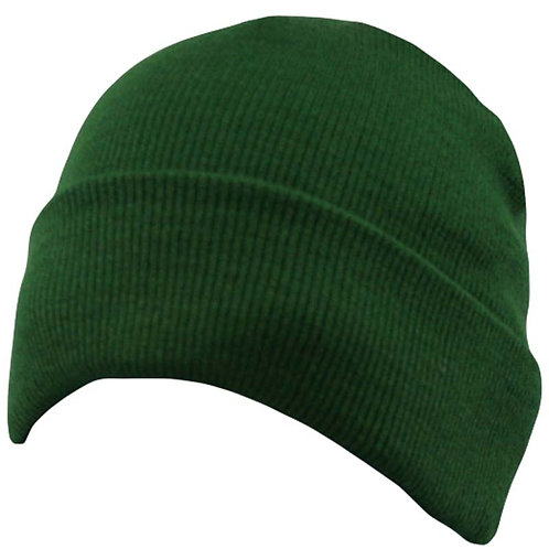 WS04 Acrylic Knitted Hat Turn-Up