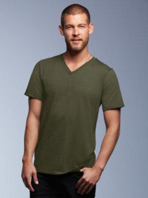 AV-R106 Adult V Neck Fashion T-Shirt