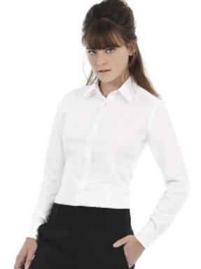 BA-R707 Ladies Oxford Long Sleeve Shirt