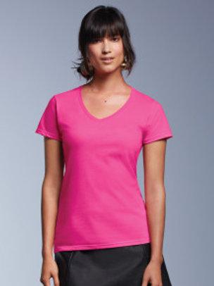 AV-R183 Ladies V Neck Fashion T-Shirt