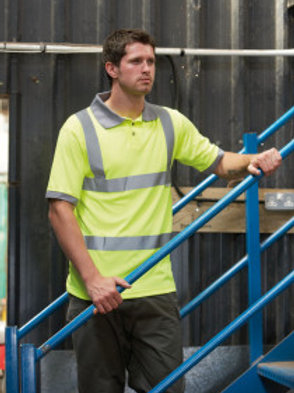 WD-R043 High Visibility Polo Shirt