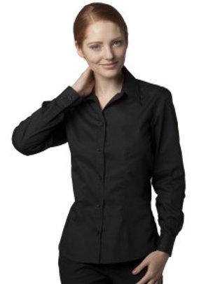 KK-R738 Ladies' Long Sleeved Bar Shirt