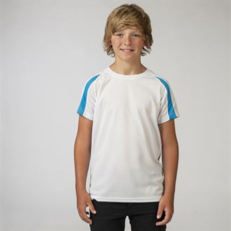 JC-R03J Kids Contrast Cool T-Shirt