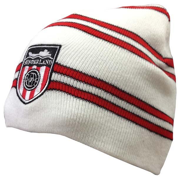 Sunderland White Beanie
