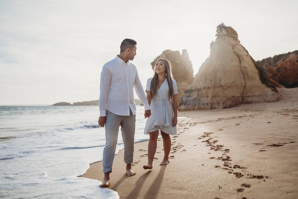 Algarve Enagemn Shoot | JJMT Photography