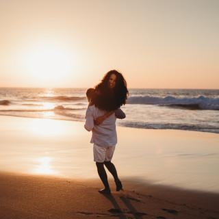 Guinch Beach Engagement - JJMT Photography