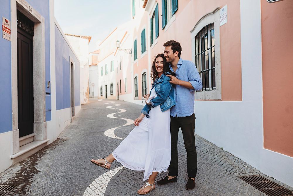 Engagement Photoshoot Cascais