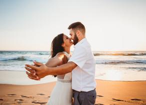 Epic Engagement Session, Guincho Beach, Cascais Portugal - Megan & Johnny