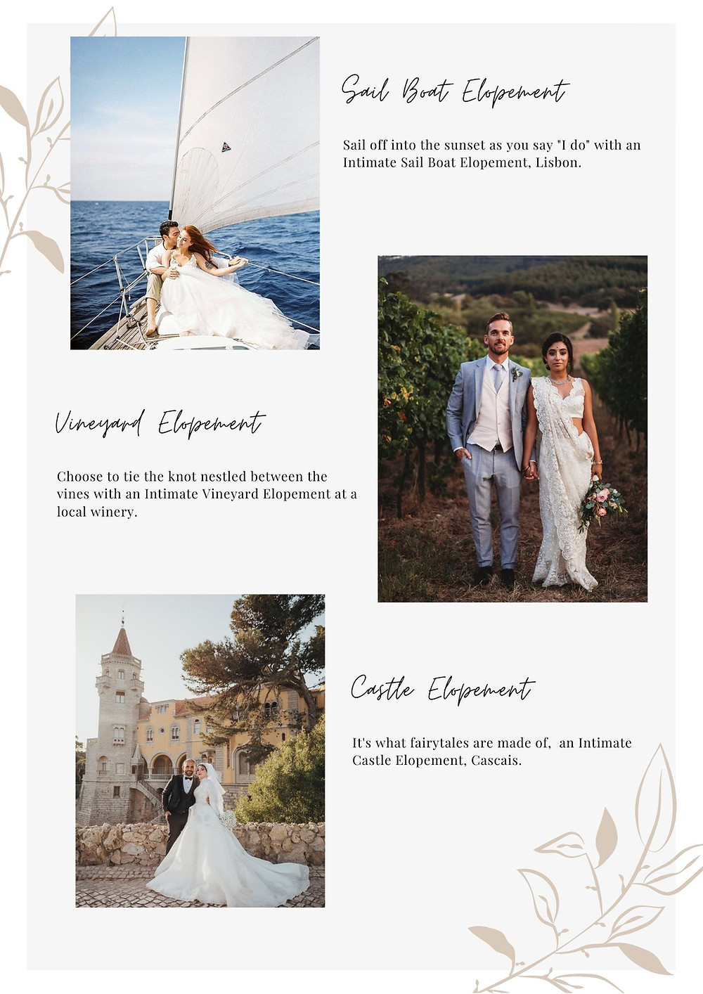 Elope in Portugal