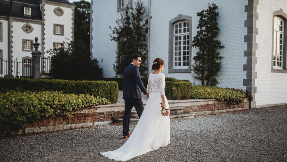 Chateau de Deulin Wedding, Liege, Belgium - Valentine & Pierre-Yves