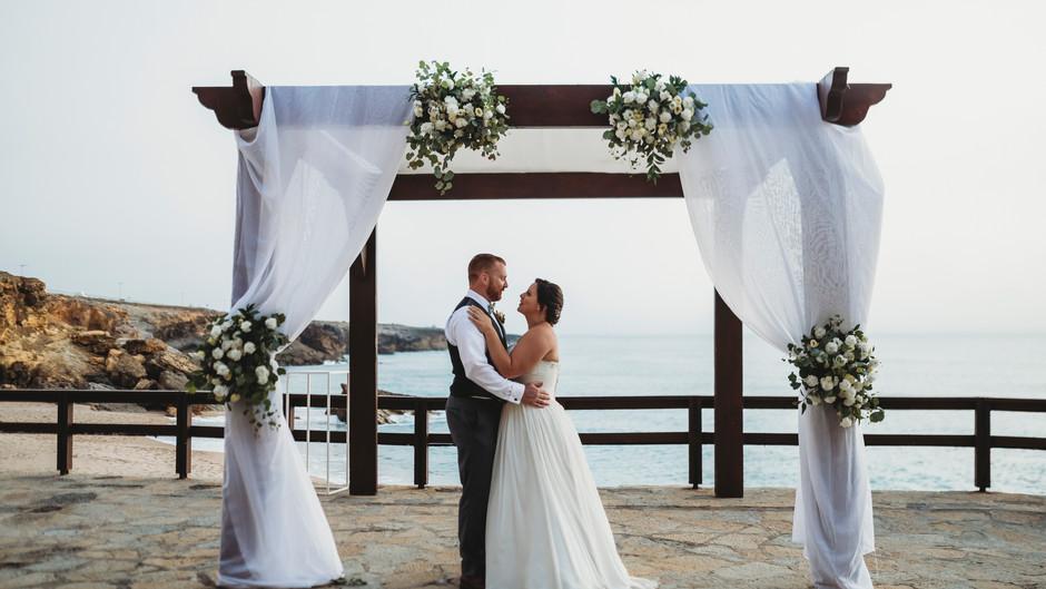 Arriba by the Sea Wedding - Leslie & Stephen