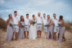 Bahia Beach Bar Wedding  JJMT Photograph