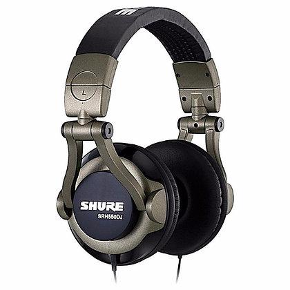 Fone de Ouvido Headphone Shure SRH550DJ