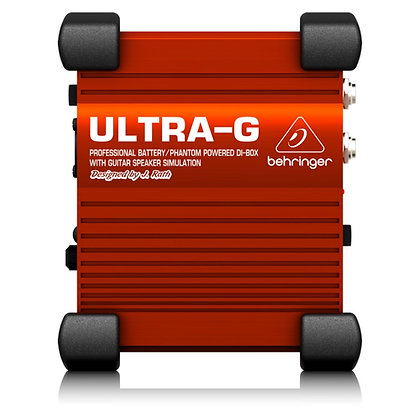 Direct Box Ativo Behringer UltraG GI100