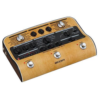 Pedaleira para Violão Zoom AC-3