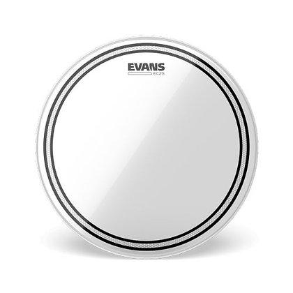 """Pele p/Caixa/Tom 14"""" Transparente Evans EC2S TT14EC2S"""