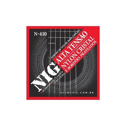 Encordoamento p/Violão Nylon Tensão Alta Nig N410