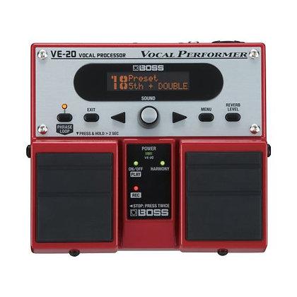 Pedal p/Voz Boss Vocal Processor VE-20