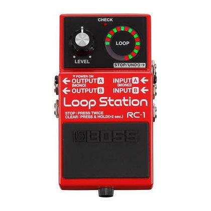 Pedal p/Guitarra Boss Loop Station RC-1