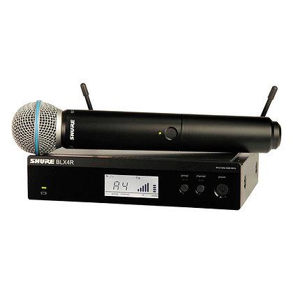Microfone s/Fio de Mão Shure BLX24RBR/SM58 (Rack)