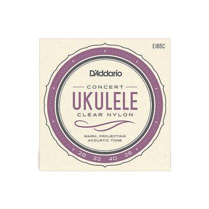 Encordoamento p/Ukulele Concert D'Addario EJ65C