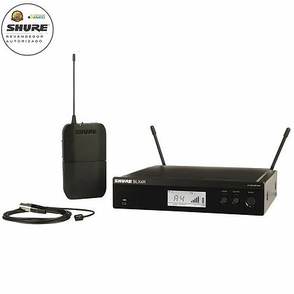Microfone s/Fio de Lapela Shure BLX14RBR/W93 (Rack)