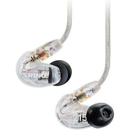 Fone de Ouvido In-Ear Shure SE215-CL