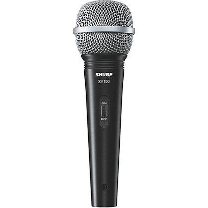 Microfone c/ Fio Vocal Shure SV100