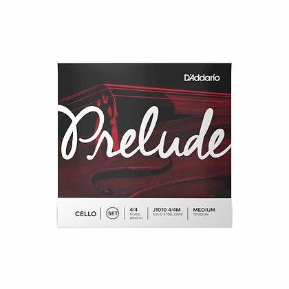 Encordoamento p/Cello 4/4 T. Média Prelude D'Addario J1010 4/4M