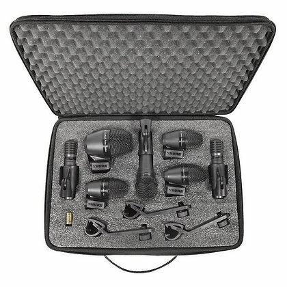 Kit de Microfone p/ Bateria Shure PGADRUMKIT7