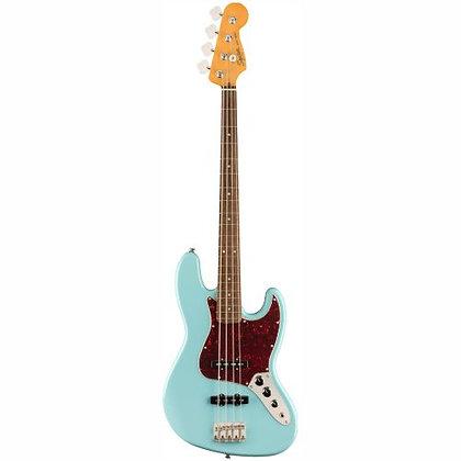 Contrabaixo Fender 4C Squier Classic Vibe 60S Jazz Bass Daphne Blue