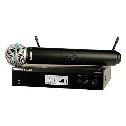 Microfone s/Fio de Mão Shure BLX24RBR/B58 (Rack)