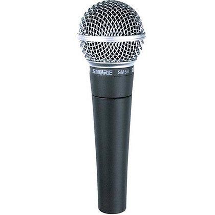 Microfone c/Fio Vocal Dinâmico Shure SM58-LC
