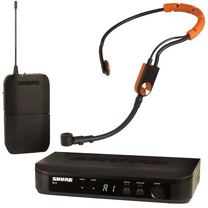 Microfone s/Fio Headset Shure BLX14BR/SM31