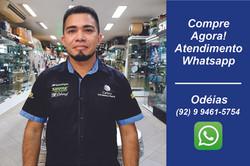 Odéias Lima - Consultor de Vendas
