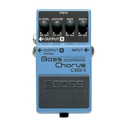 Pedal p/Contrabaixo Boss Bass Chorus CEB-3