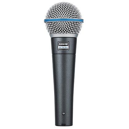 Microfone c/Fio Vocal Supercardioide Beta58A