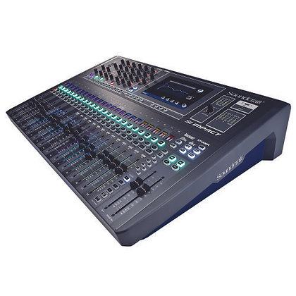 Mesa de Som Digital Profissional 32 Canais Soundcraft SI Impact