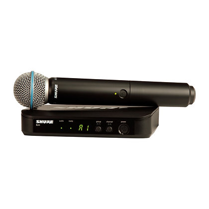 Microfone s/Fio de Mão Shure BLX24BR/B58